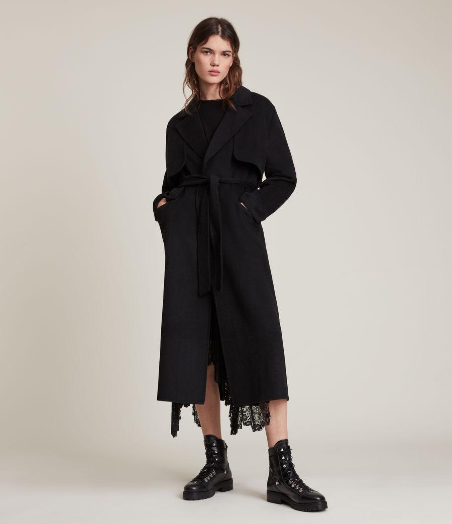 Women's Bree Coat (black) - Image 5