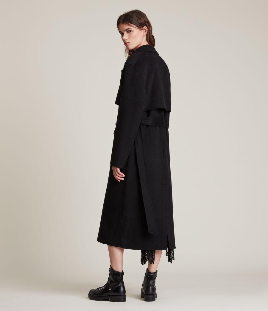 Women's Bree Coat (black) - Image 6