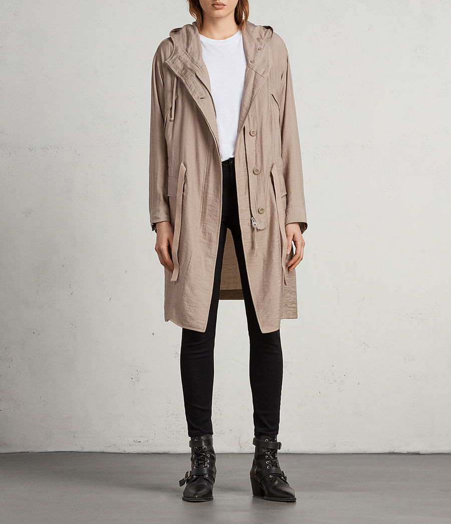 Womens Kinsley Parka (dusty_pink) - Image 3