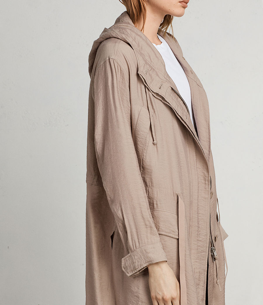Womens Kinsley Parka (dusty_pink) - Image 4