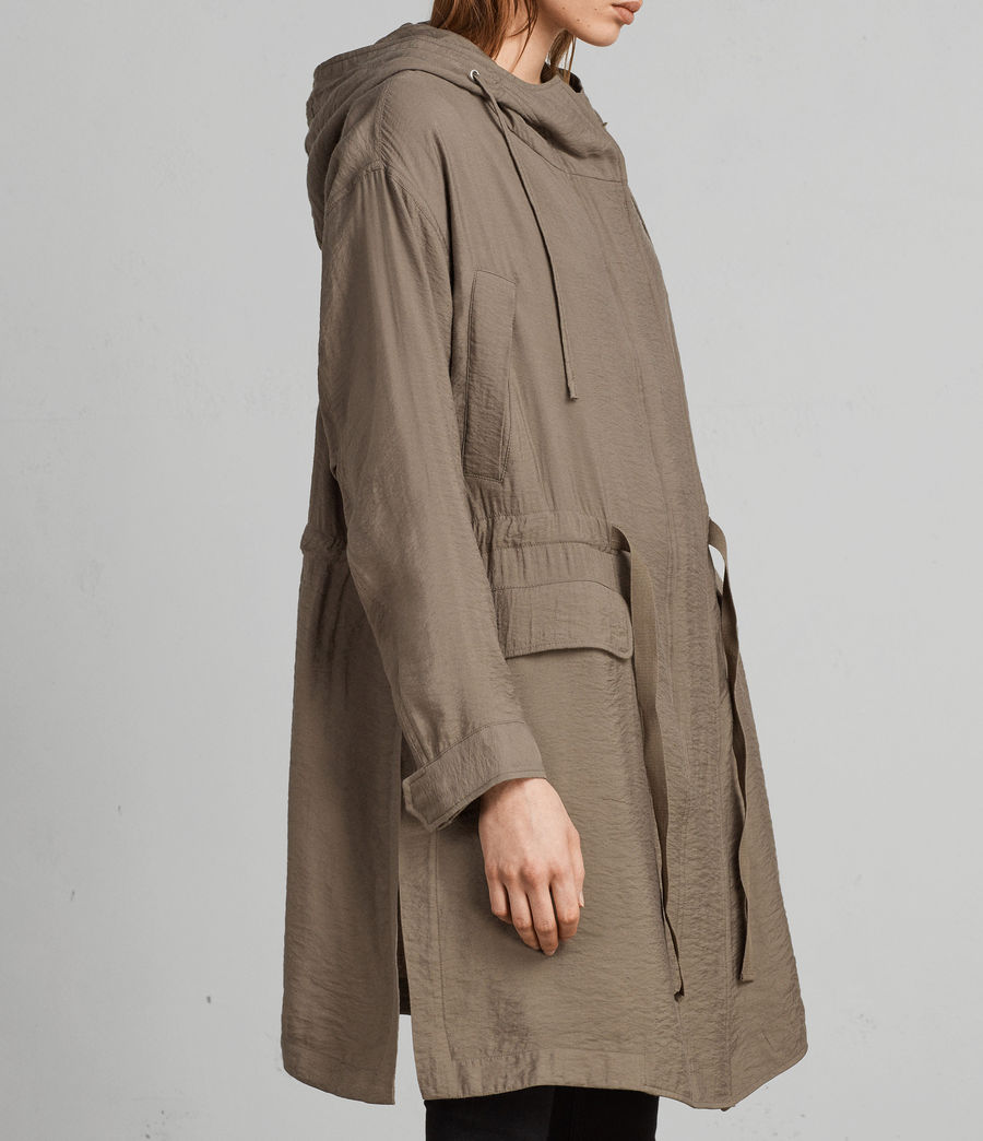 Womens Kinsley Parka (fern_green) - Image 1