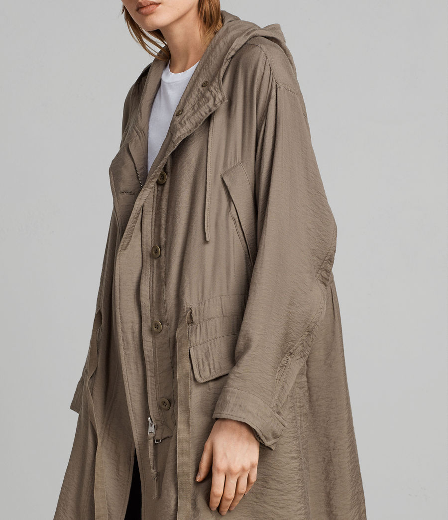 Womens Kinsley Parka (fern_green) - Image 2