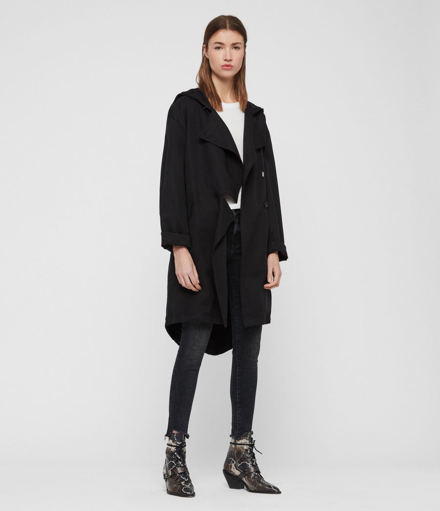 Women's Bexley Parka (black) - Image 1