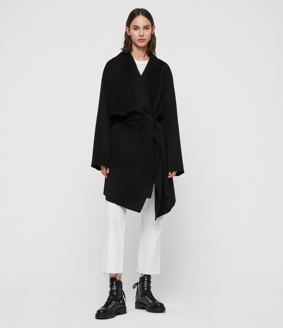 Women's Adalee Coat (black) - Image 1