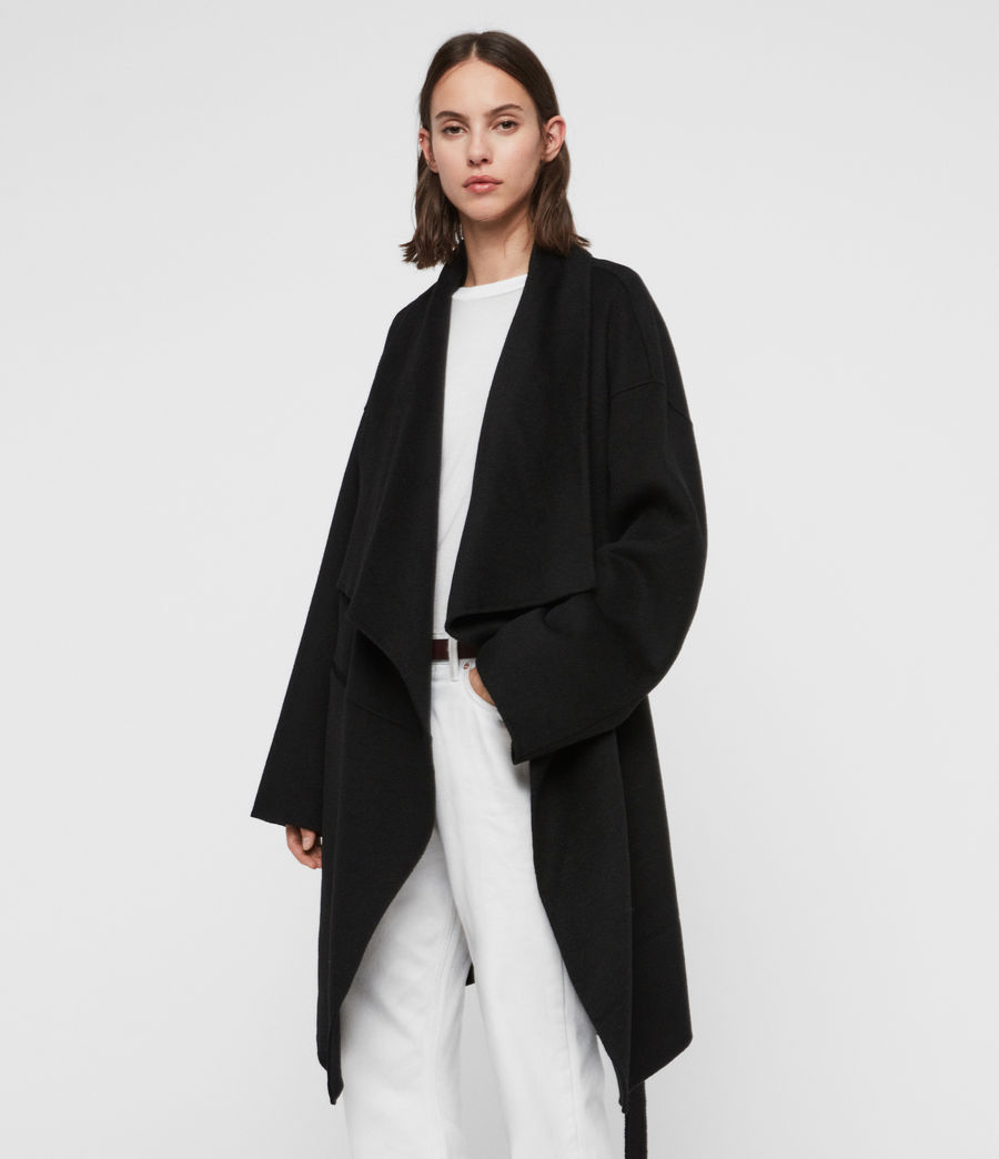 Women's Adalee Coat (black) - Image 2