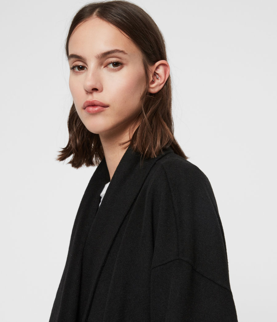 Women's Adalee Coat (black) - Image 3