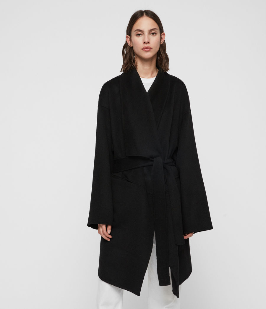Women's Adalee Coat (black) - Image 4