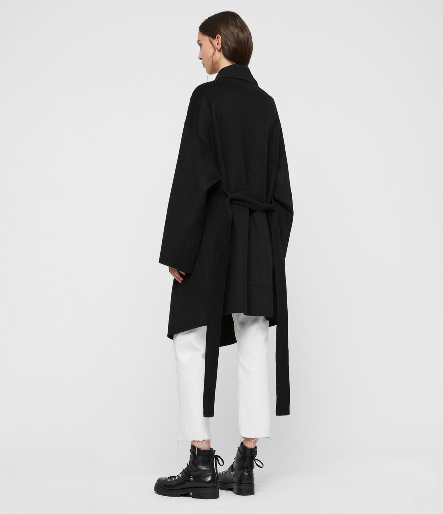Women's Adalee Coat (black) - Image 5