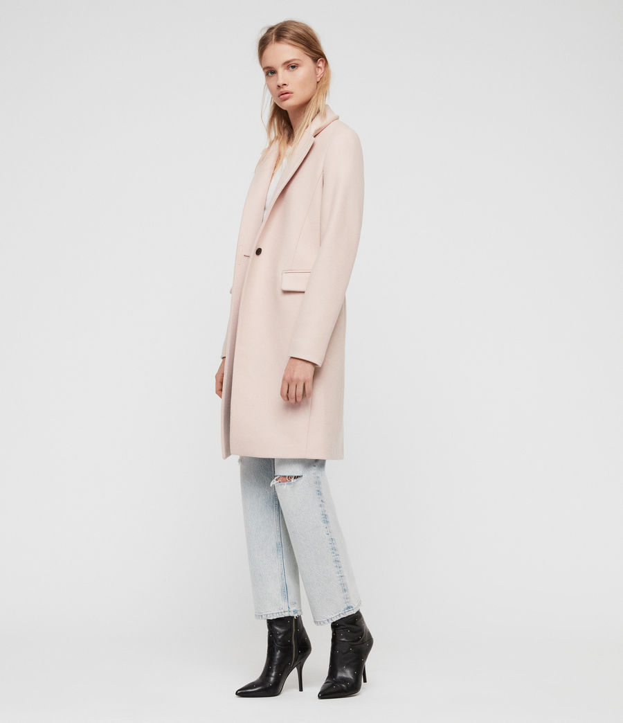 Women's Evelyn Coat (blush_pink) - Image 1