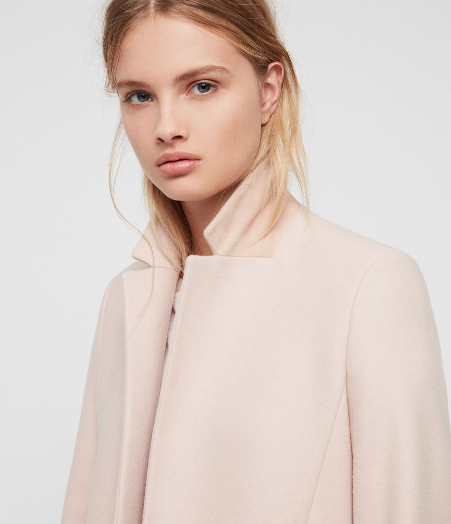 Women's Evelyn Coat (blush_pink) - Image 2