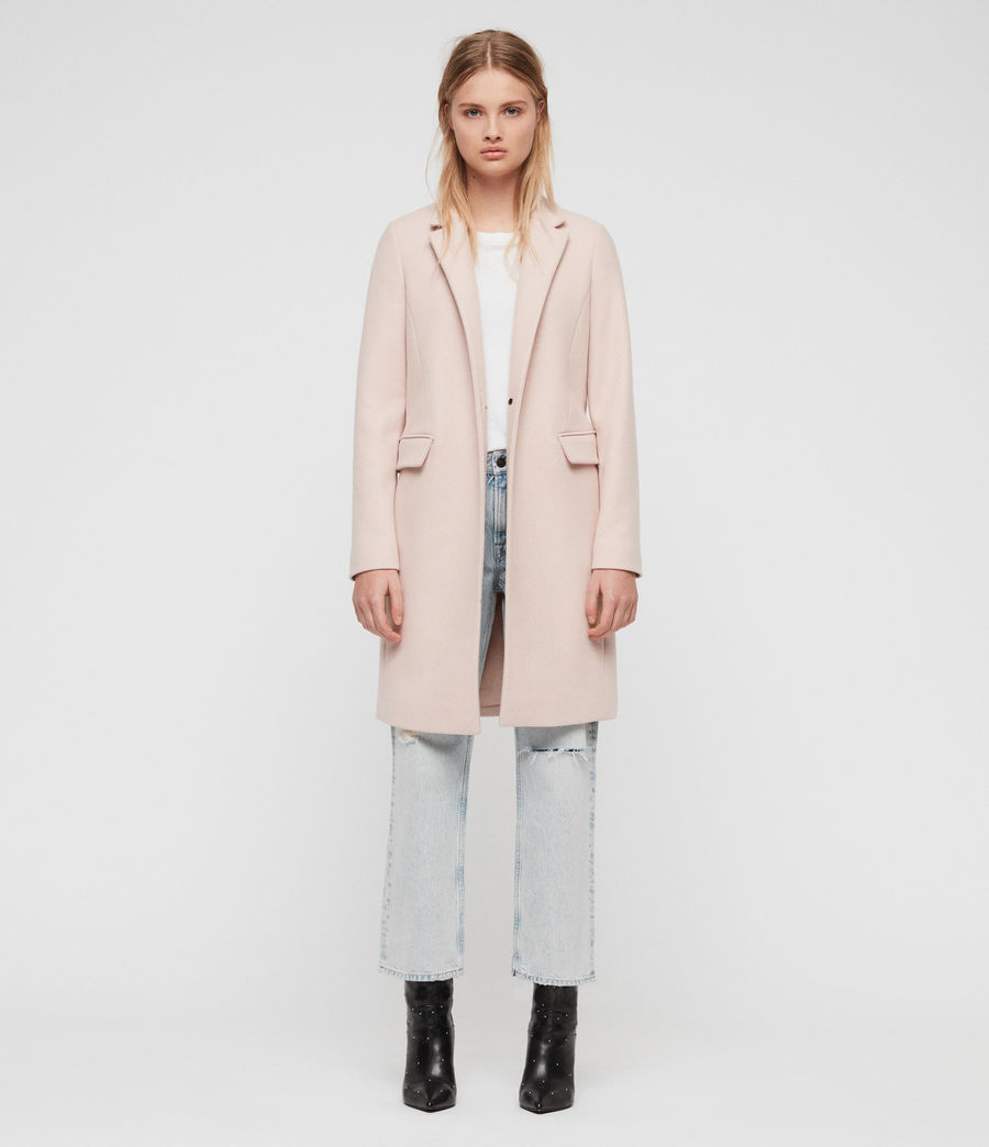 Women's Evelyn Coat (blush_pink) - Image 3