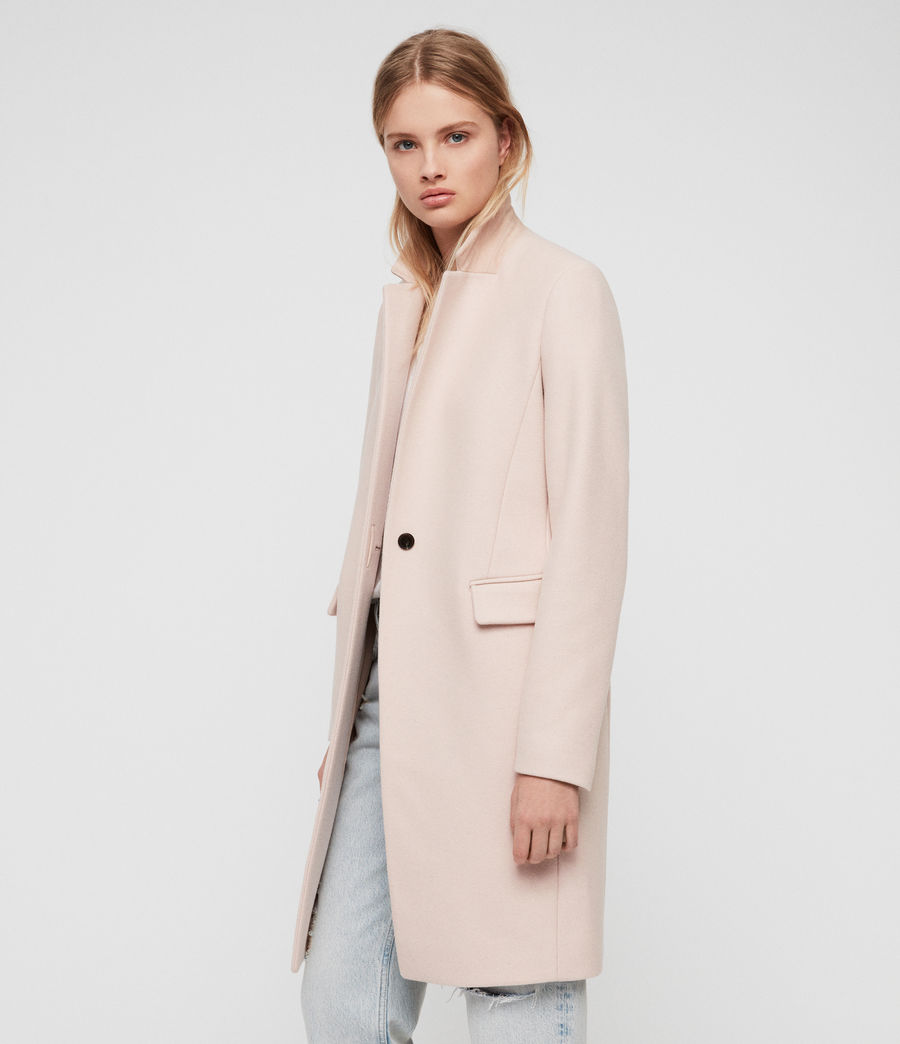Women's Evelyn Coat (blush_pink) - Image 4