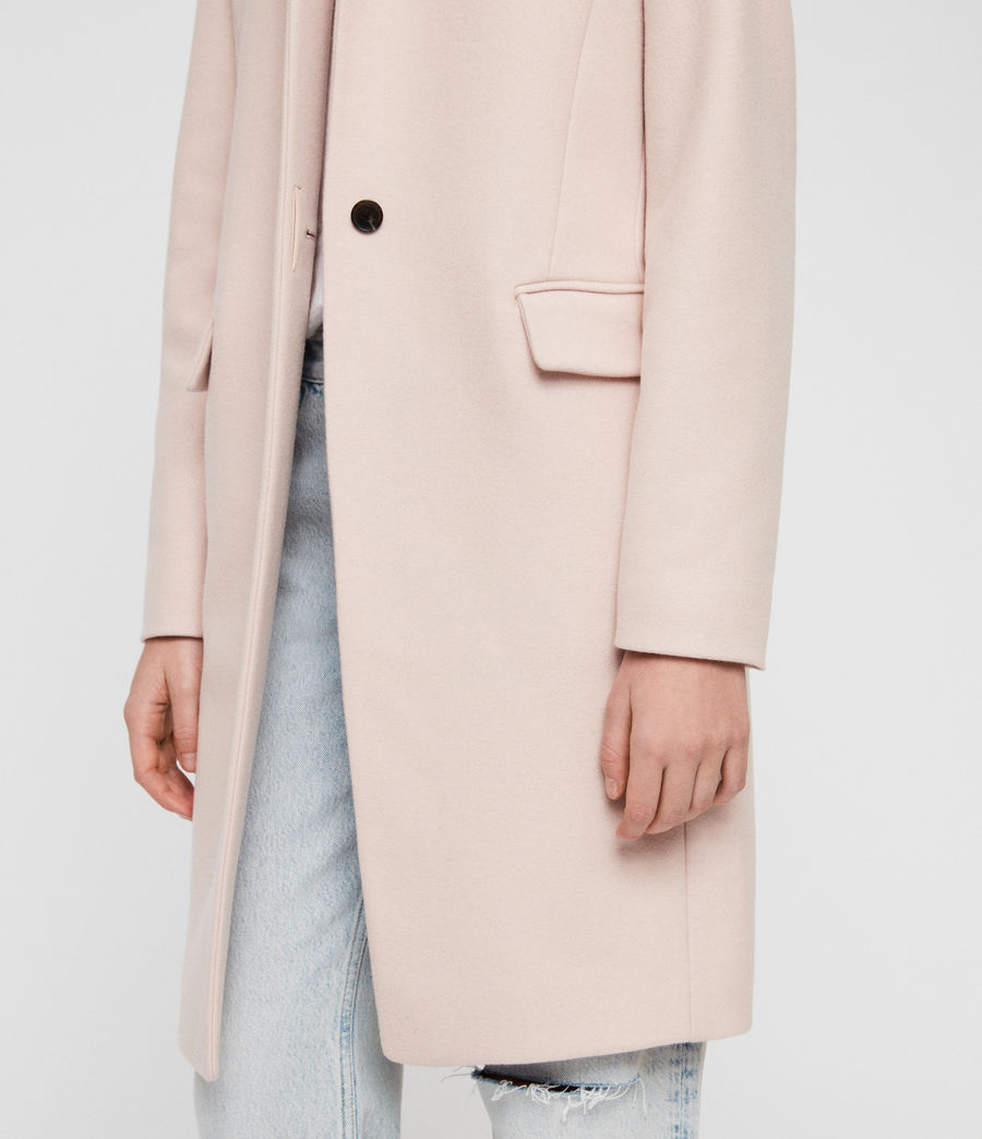 Women's Evelyn Coat (blush_pink) - Image 5