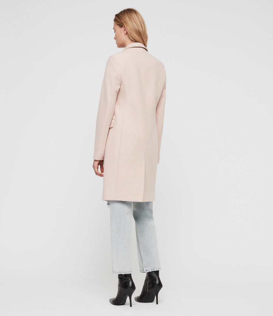Women's Evelyn Coat (blush_pink) - Image 6