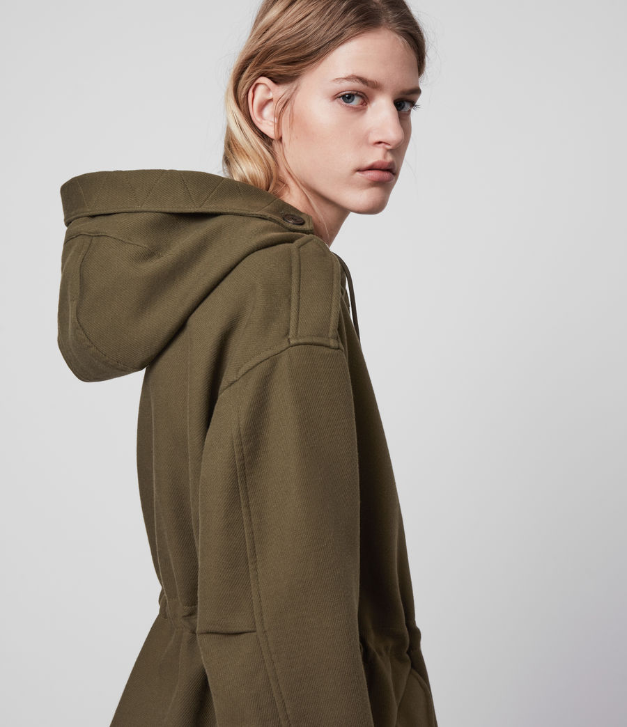 Womens Kelsie Jacket (khaki_green) - Image 2