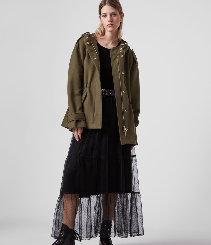 Womens Kelsie Jacket (khaki_green) - Image 5
