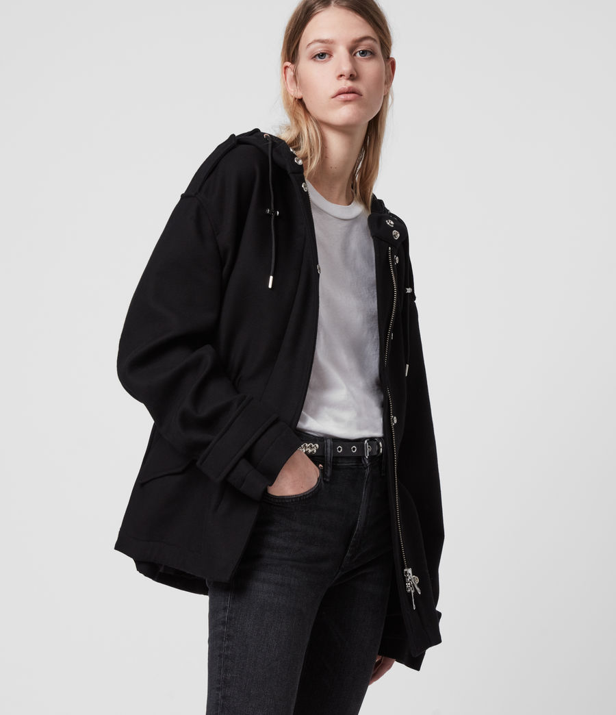 Womens Kelsie Jacket (black) - Image 4