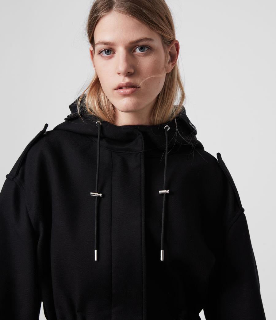 Womens Kelsie Jacket (black) - Image 5