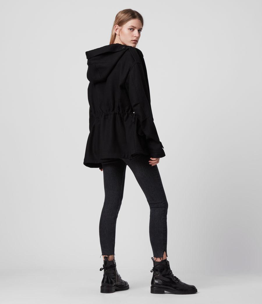 Womens Kelsie Jacket (black) - Image 6