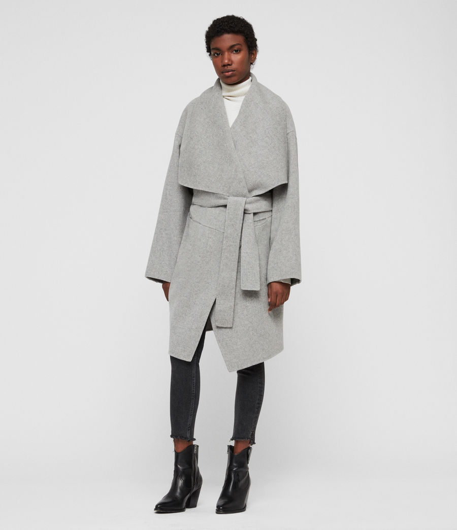 Women's Adalee Coat (light_grey) - Image 1
