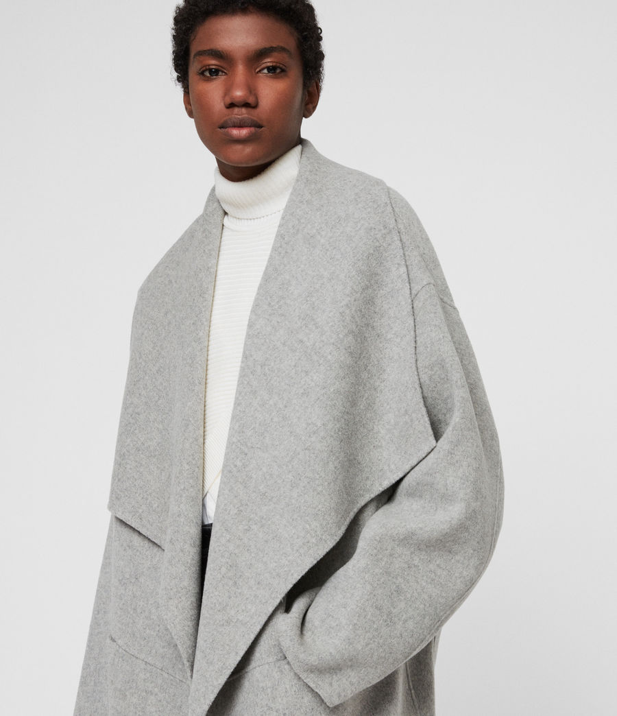 Women's Adalee Coat (light_grey) - Image 2