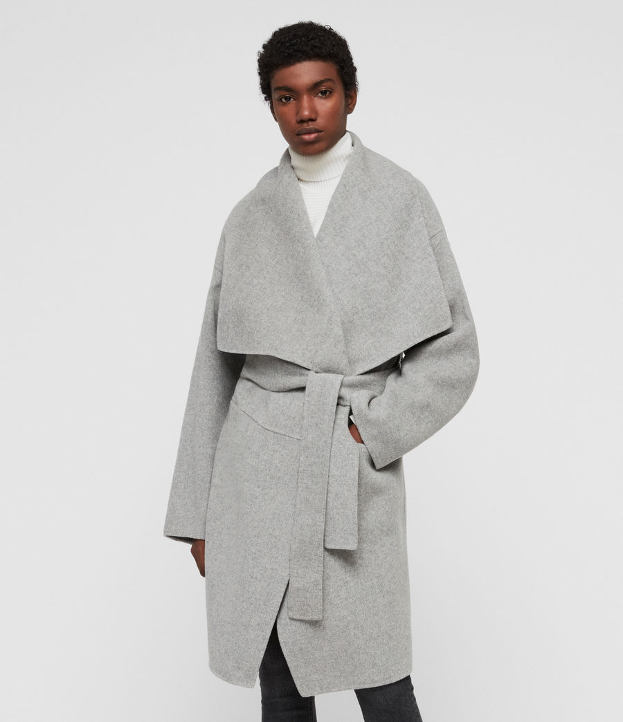 Women's Adalee Coat (light_grey) - Image 3