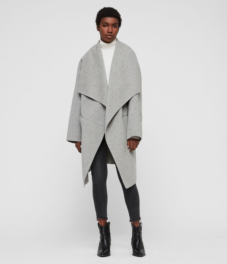 Women's Adalee Coat (light_grey) - Image 4