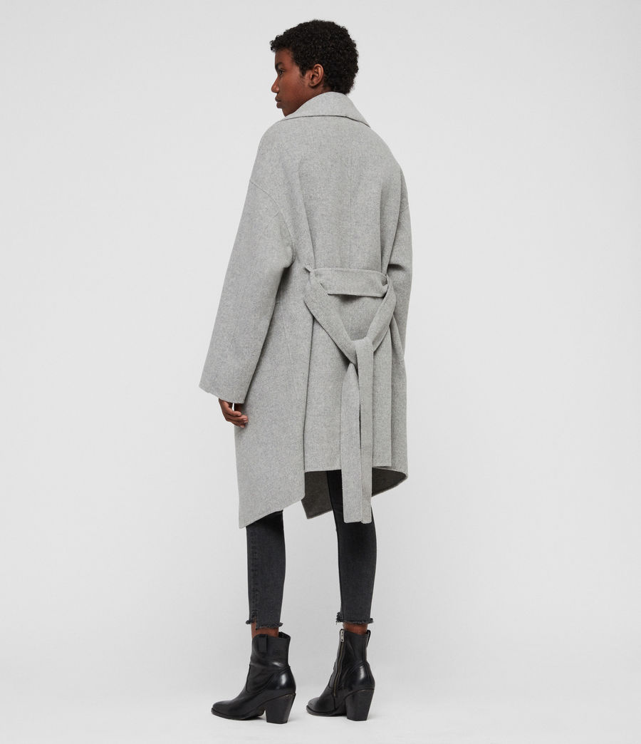 Women's Adalee Coat (light_grey) - Image 5