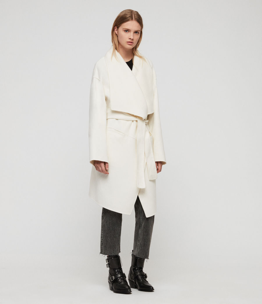 Womens Adalee Coat (oatmeal_brown) - Image 1