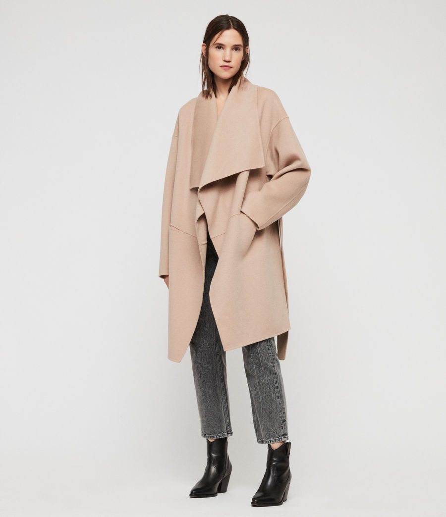 Womens Adalee Coat (oatmeal_brown) - Image 2