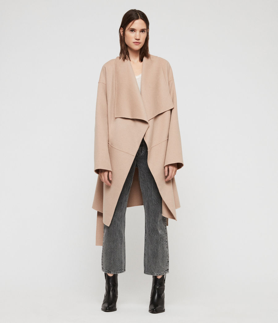 Womens Adalee Coat (oatmeal_brown) - Image 6