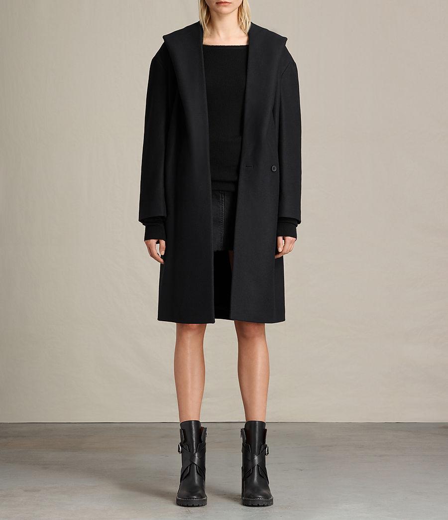 Donne Cappotto Scala (black) - Image 1