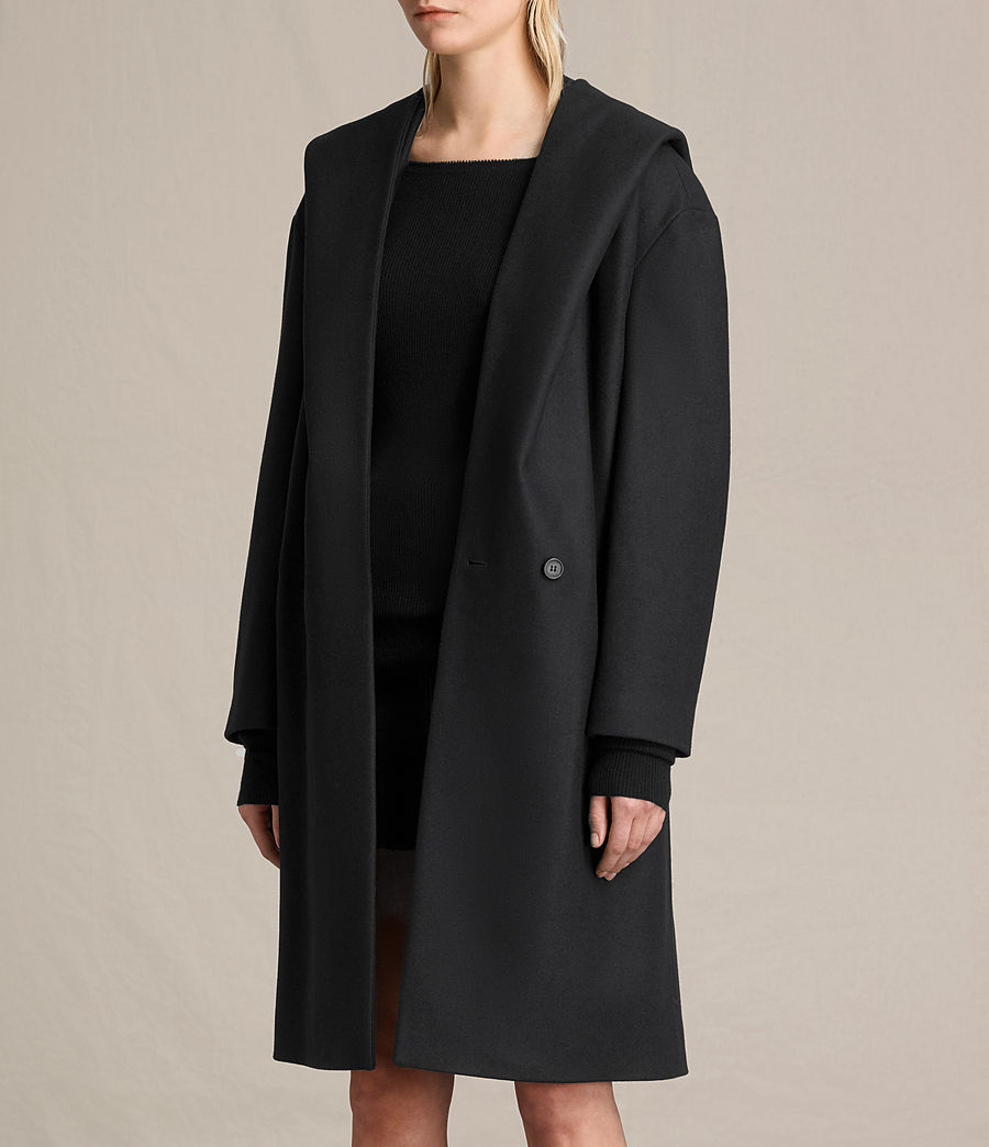 Donne Cappotto Scala (black) - Image 3