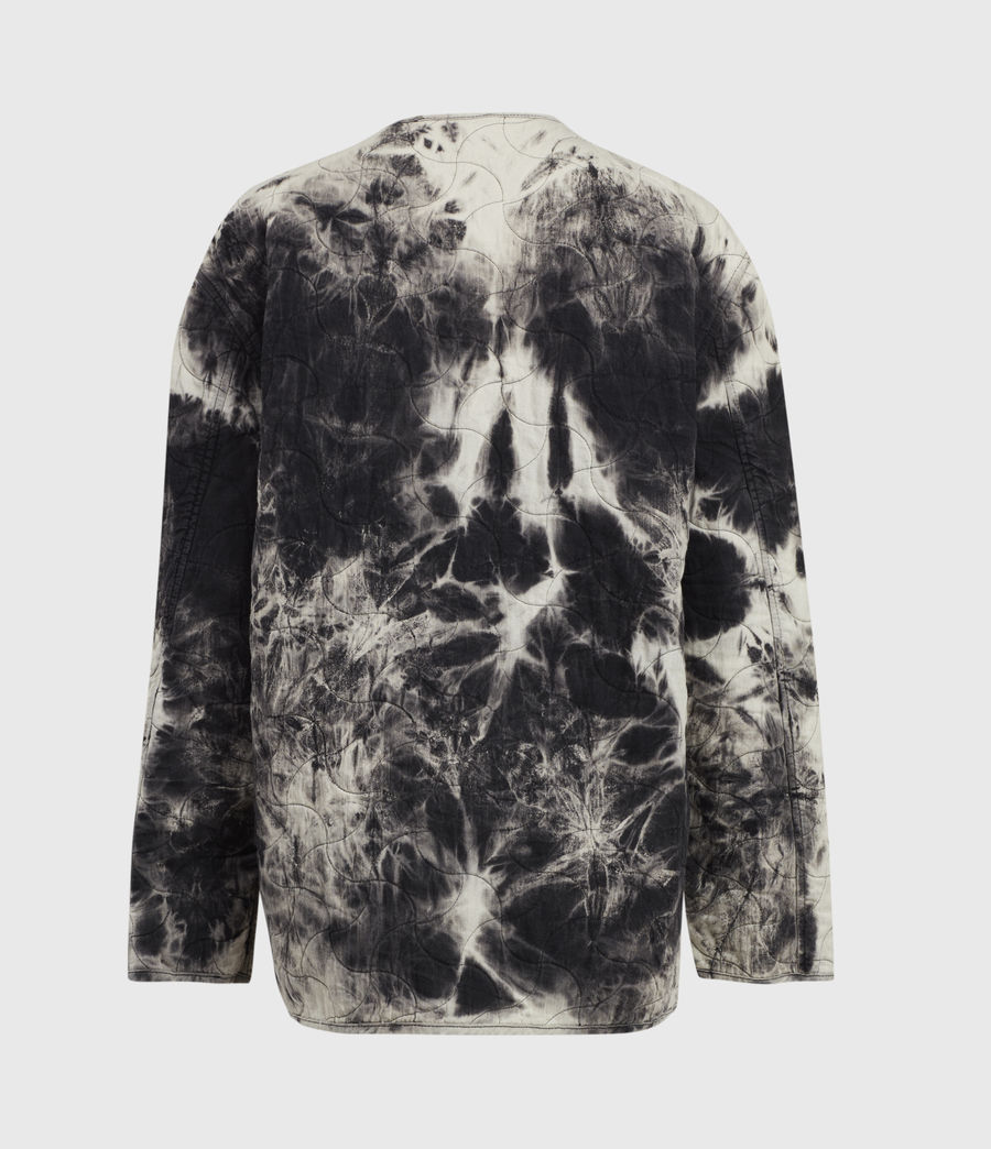 Womens Nora Tie Dye Jacket (black) - Image 3