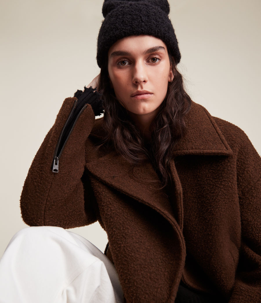 Women's Boston Jacket (brown) - Image 1