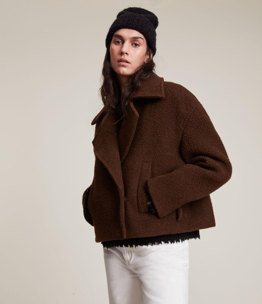 Women's Boston Jacket (brown) - Image 2