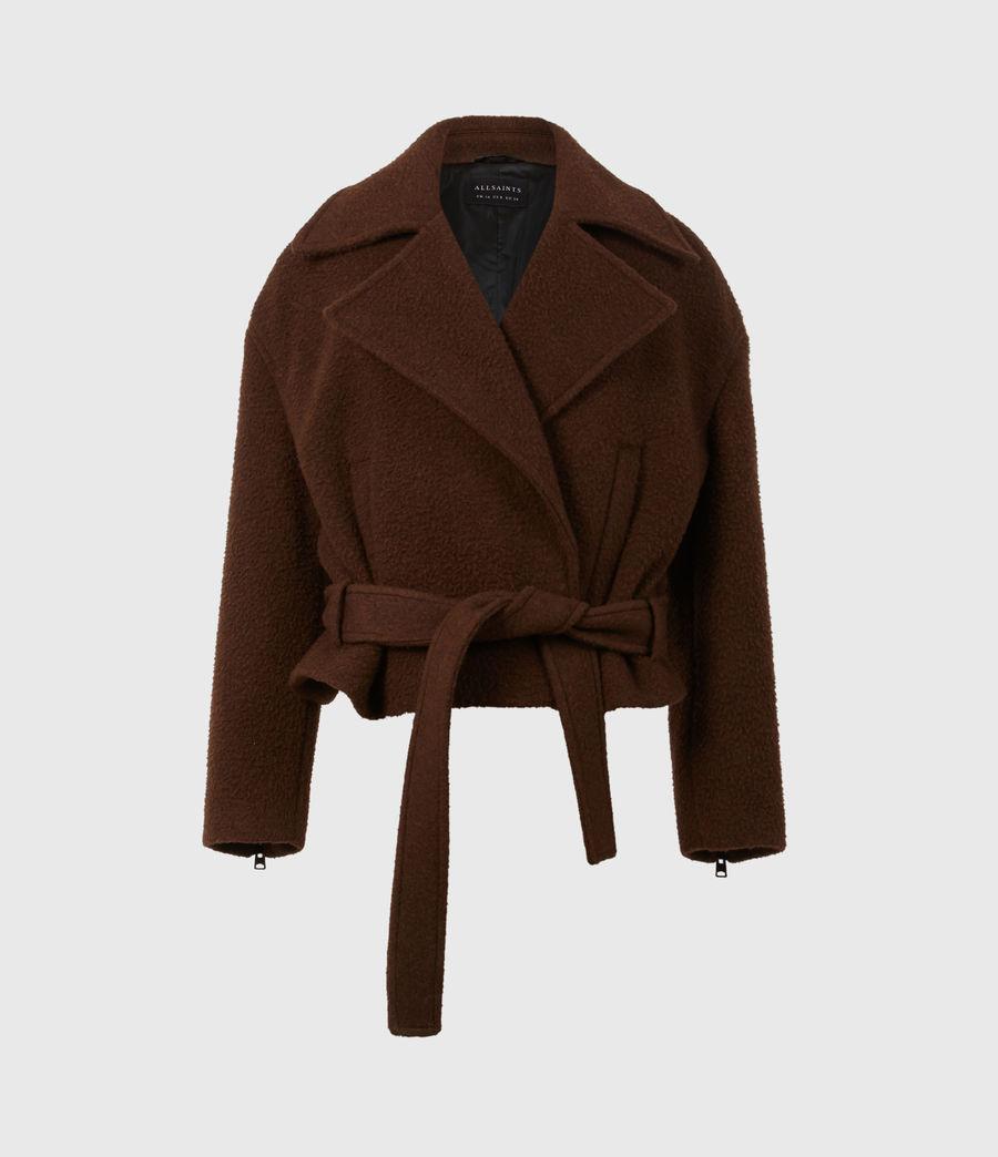 Women's Boston Jacket (brown) - Image 3