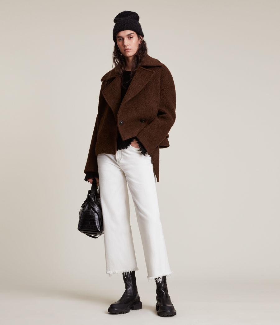 Women's Boston Jacket (brown) - Image 5