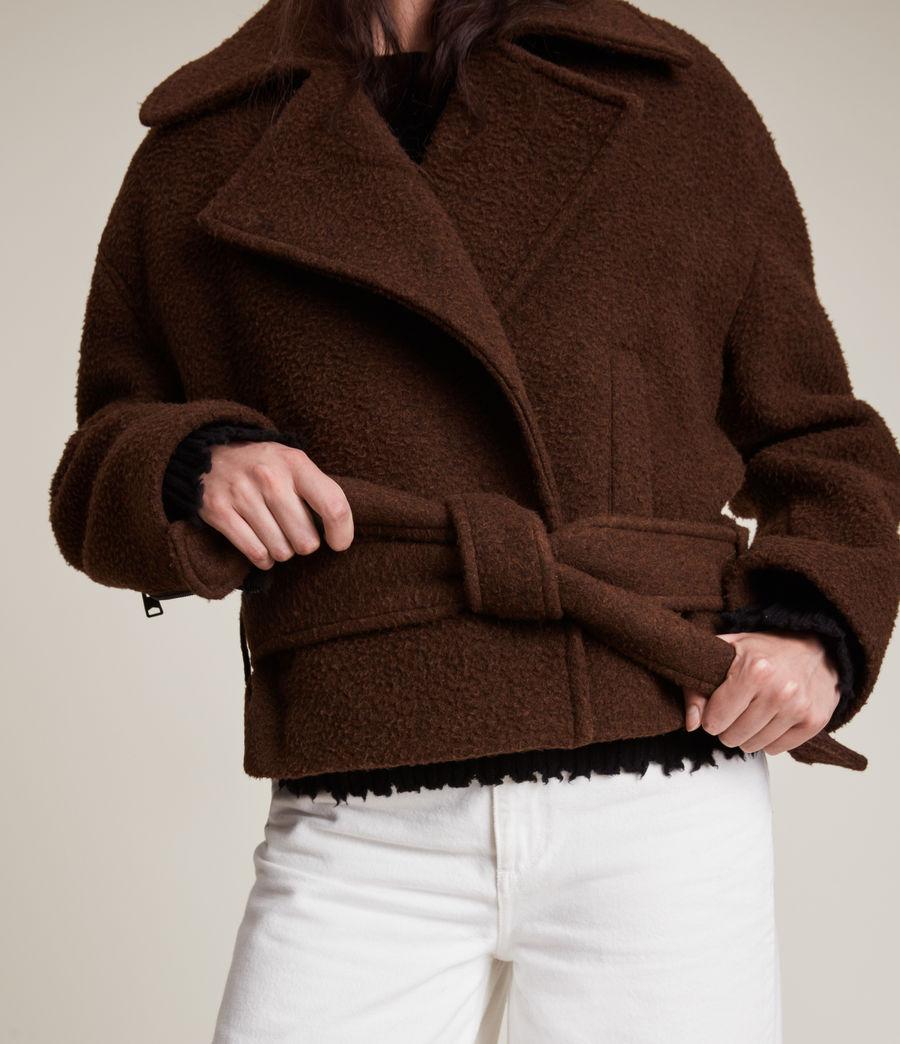 Women's Boston Jacket (brown) - Image 6