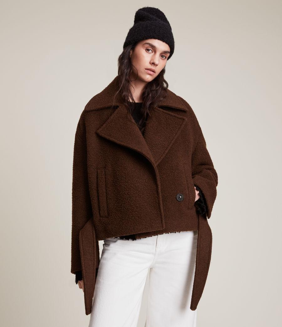 Women's Boston Jacket (brown) - Image 7