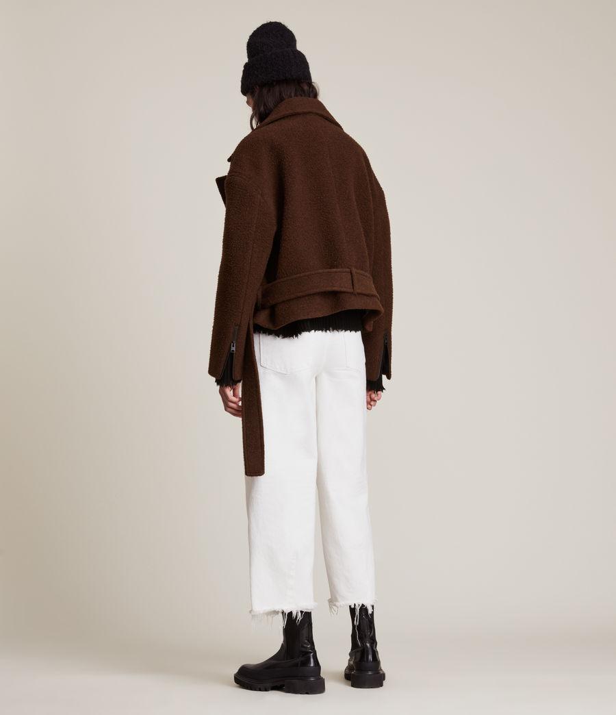 Women's Boston Jacket (brown) - Image 8