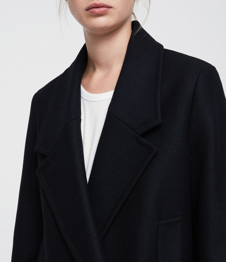 Women's Cecily Coat (ink_blue) - Image 2