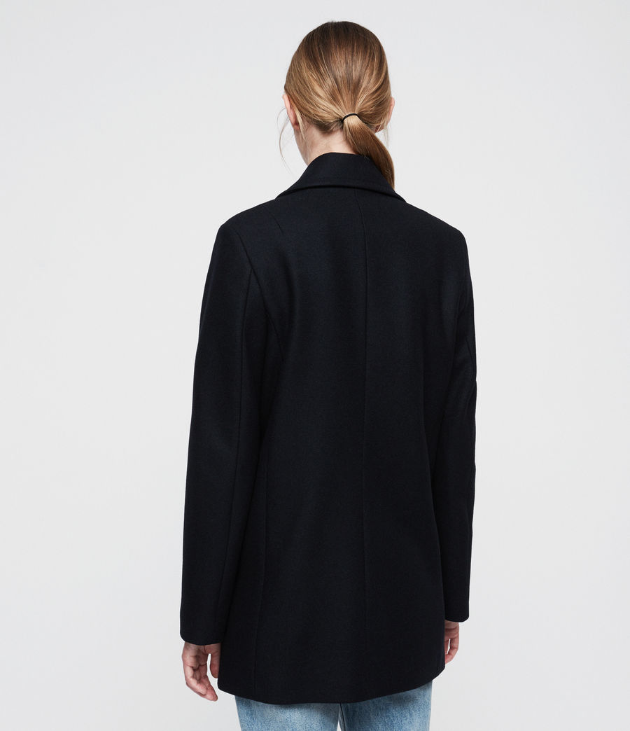 Women's Cecily Coat (ink_blue) - Image 5