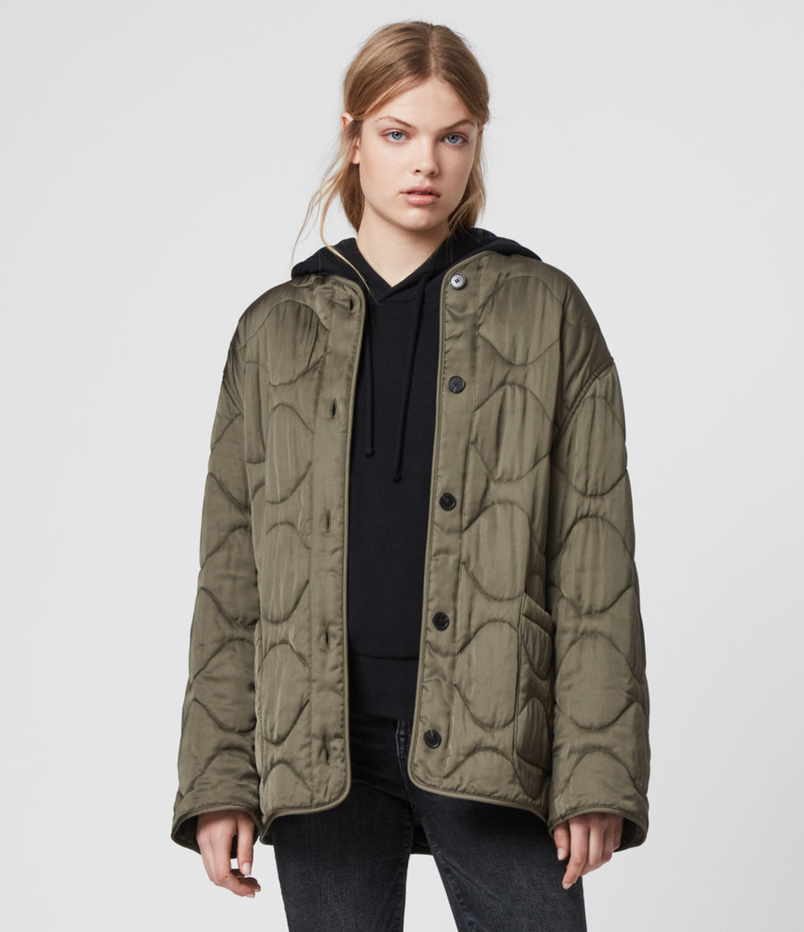 Womens Torin Jacket (khaki_green) - Image 1