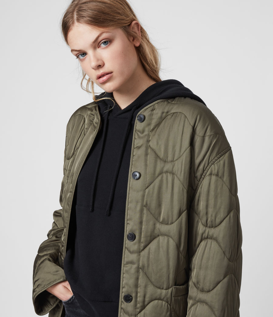 Womens Torin Jacket (khaki_green) - Image 2