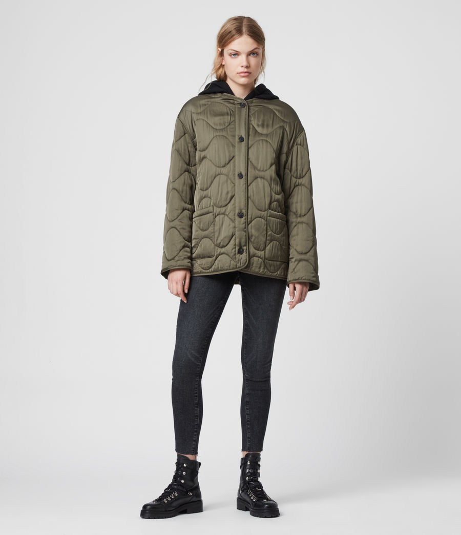 Womens Torin Jacket (khaki_green) - Image 4