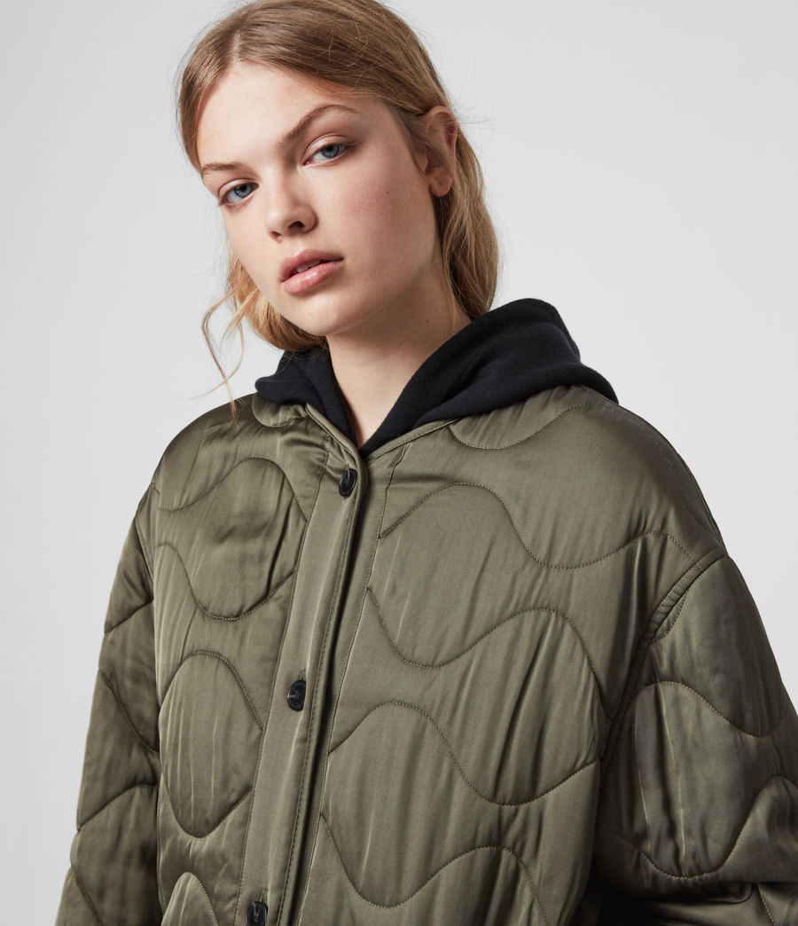 Womens Torin Jacket (khaki_green) - Image 5