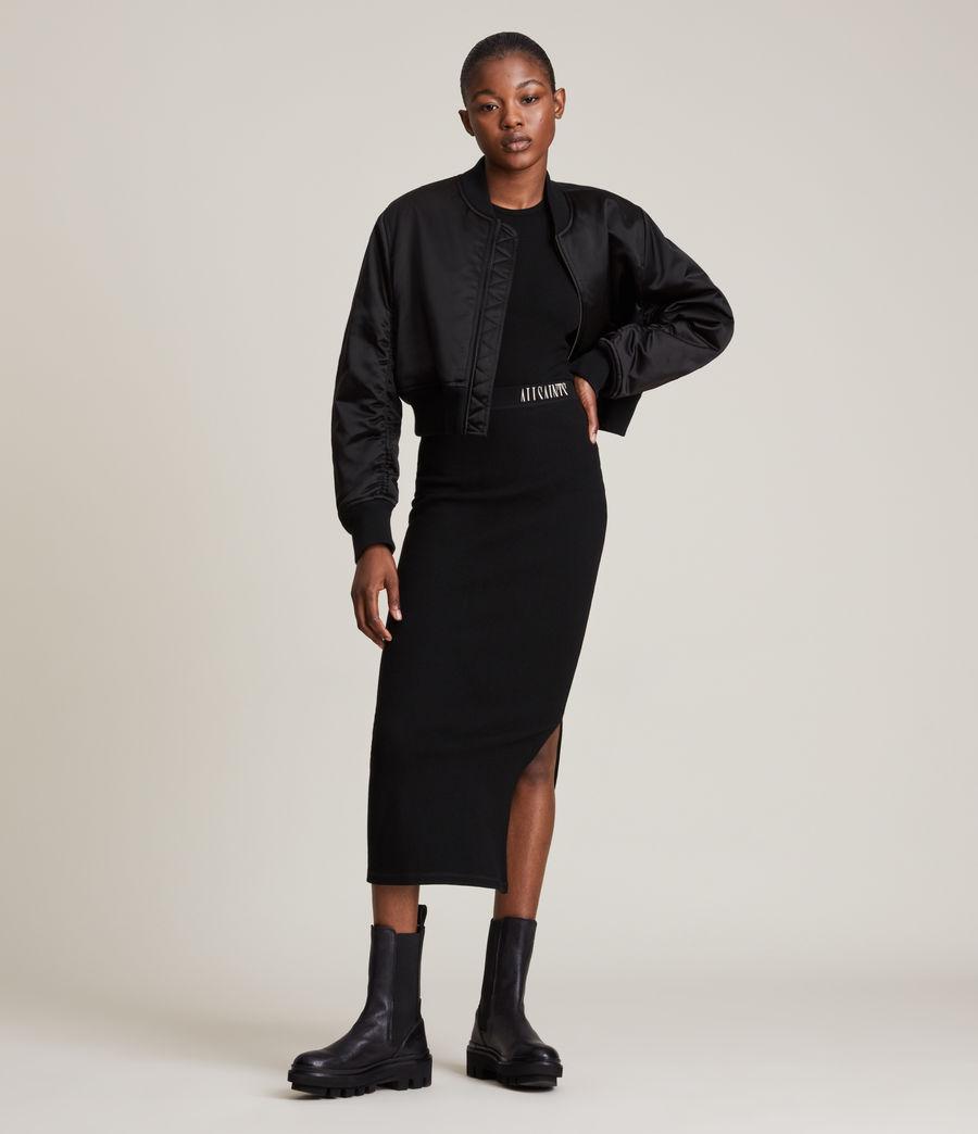 Damen Rhett Bomber Jacket (black) - Image 3