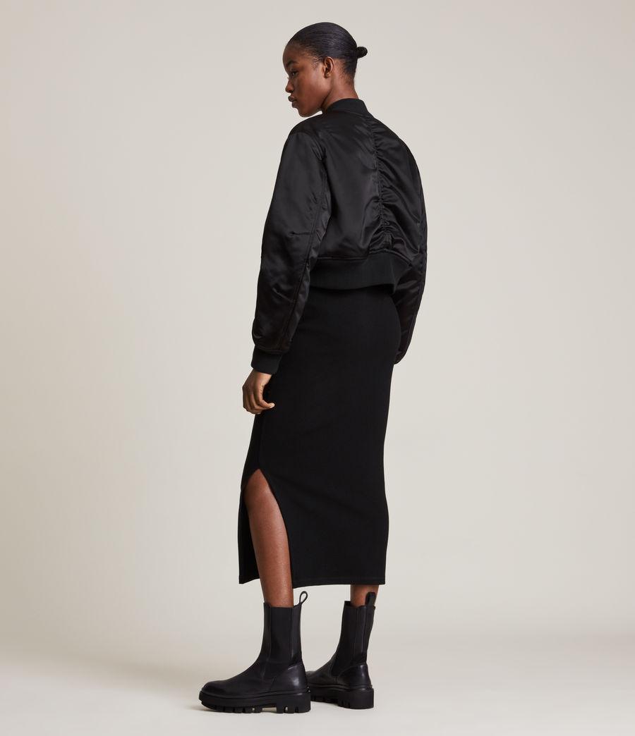 Damen Rhett Bomber Jacket (black) - Image 6