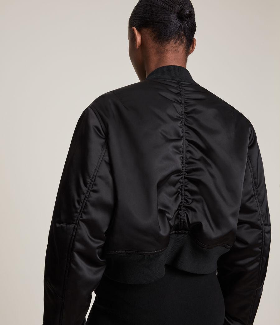 Damen Rhett Bomber Jacket (black) - Image 7